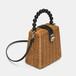 Straw Shoulder Bag Messenger Bag Beach Square Straw Handbag サマー 夏物 ショルダーバッグ ビーチ スクウェア ハンドバッグ メッセンジャーバッグ (HF99-7914505)