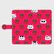 手帳型スマホケース「ペルシャと苺」(iPhone6Plus/6sPlus ・iPhone7Plus ・iPhone8Plus ・Android L)