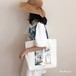 人気帆布かわいいおしゃれシンプル斜めがけ軽量女性大学生通販トートバッグバッグ