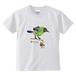 """NZ Birds """"Bell bird"""" キッズTシャツ ★名前入可"""