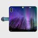 (iPhoneX サイズ)手帳タイプ:オーロラ(KAGAYA)