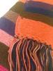 手編み 縞 マフラー