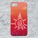 【iPhone8/7対応】D-Logoサンセットハードケース