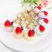 7色から選べる♪大きないちごのベリーマカロン(キーホルダー)