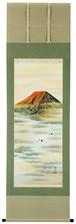 赤富士 大沢渓石 尺五立 6134