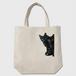 黒猫は見た・トートバッグ