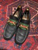 .GUCCI SHERRY LINE LEATHER HORSE BIT LOAFER MADE IN ITALY/グッチシェリーラインレザーホースビットローファー 2000000047171
