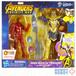 マーベル アベンジャーズ インフィニティウォー 6インチ アクションフィギュア アイアンマン サノス バトルセット