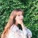 【送料無料】花柄ブラウス トップス 長袖 丸首 ラウンドネック パフスリーブ ゆったり ふんわり ガーリー フェミニン 可愛い 韓国 ナチュラル 春 デート お出かけ 通学 学生