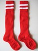 2 LINES SOCKS RED