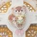【11/2 21:00-】ビーズ刺繍のこりす ブローチ