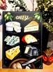 チョークアート黒板の会 2月号 チーズ