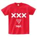 ERICH / XXX LOGO T-SHIRT RED