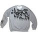 "Lightweight-Sweatshirts ""Taggin"" Ash-grey"