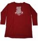 【JTB】JUST FOR ロングスリーブTシャツ【ボルドー】イタリアンウェア【送料無料】《M&W》