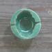 灰皿(緑釉)