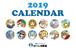 保険ソクラテス 2019年オリジナル卓上カレンダー