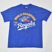 【Used】Made in USA Hanes MLB World Series 1985 Kansas City Royals T-Shirt