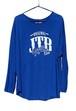 【JTB】 ROUND ロングスリーブTシャツ【ブルー】【再入荷】イタリアンウェア【送料無料】《M&W》