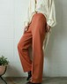 GIVENCHY orange brown easy pants