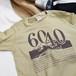 60/40デザイン プリントTシャツ