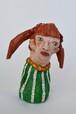 ダンボール彫刻 ちいさいシリーズ 女の子 C539