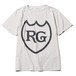 LABEL TEE - STONE WASH (GRAY) / RUDE GALLERY