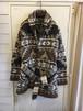 """RALPH LAUREN"" native pattern hand knit cardigan"