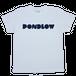 PONDLOWロゴTシャツ White