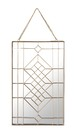 "Geometry Wall Hanging Mirror ""02-S"""