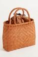憧れの山ぶどう籠バッグ 内袋付き A網代編み
