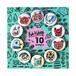 Rob Kidney / 10 Badge set