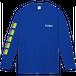 vibeca ロングスリーブTシャツ blue