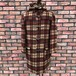 Deadstock Gloverall Duffle Coat Brown Tartan Made In England GB32