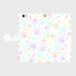 手帳型スマホケース Lサイズ(iPhone・Android対応) 【肉球柄】