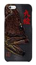 魚拓スマホケース【九絵(クエ)・ハードケース・背景:黒・送料無料】