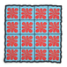 "BALL&CHAIN""FLOWER BLOTTER PATCH"""
