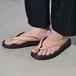 "Leather Sandal ""雪駄"" - Crocodile Natural〈 No,No,Yes! vs TOKYO SANDAL 〉"