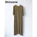 THE SHINZONE/シンゾーン・イエローフラワードレス