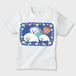 ももちゃんの世界002 キッズTシャツ ※お肌にやさしいガーメントインクジェット印刷