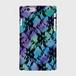 レースフラワー【Violet×Green】 ハードケース iPhone/Android