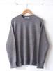 FUJITO Crew Neck Sweater Top gray,Charcoal,Burgundy,Yellow