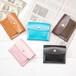 外小銭ミニ財布レザー 本革2つ折り レディース   メンズ レザーミニウォレット コンパクト財布