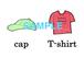 Clothes 絵+英単語 フラッシュカードデータ(カラー)