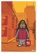《山本周司 イラストポストカード》CY-19/ ドレッドの男
