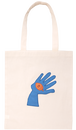 [DONGURI] HAND-STITCH APPRIQUE TOTE BAG-SB ドングリアップリケトートバッグ