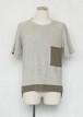 【KINO MEN'S】パイルTーシャツ/816SSMU-03(¥22,000-40%off)