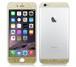 iPhone6、iPhone6Plus用 両面カスタムデザイン液晶フィルムシール(ラメゴールド)