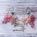 Coralreef motif Pierce -Pink-