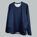 3月発売予定 超度詰ドレススウェットシャツ / NAVY